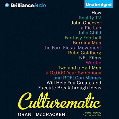 Culturematic audiobook cover art