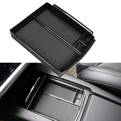 omotor for Tesla Model X Model S 2016 2017 2018 Center Console Organizer Armrest Storage Box Holder Container Glove Pallet