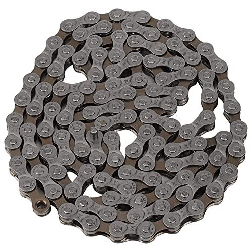 Cadena de bicicleta, cadena de bicicleta de 7/8/21/24 velocidades, aleación de aluminio, cadena de bicicleta de carretera de montaña, cadena recargable, cadena de alta gama antioxidante, accesorios de