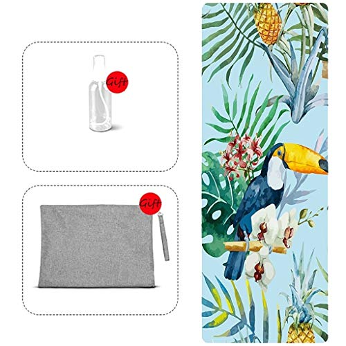 YXJBD yoga-handdoek, katoen, antislip, yoga-handdoek, hoogwaardig, duurzaam, absorberend.