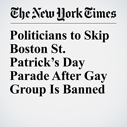 Politicians to Skip Boston St. Patrick's Day Parade After Gay Group Is Banned copertina