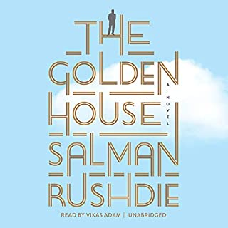The Golden House audiobook cover art