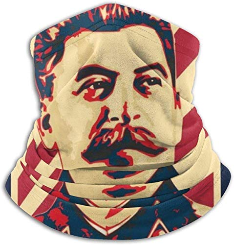 JiangMeiYingSGRHG Stalin Propaganda Poster Gesicht Sturmhauben Bandanas für Staub, im Freien, Festivals, Sport