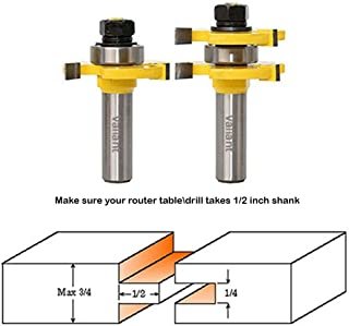 1 8 tongue and groove router bit
