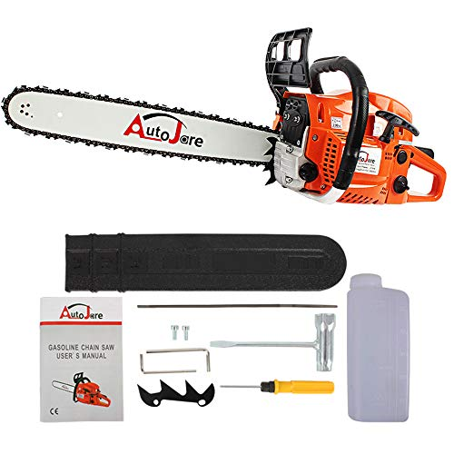 New Gas chainsaw - Easy Start 2 Cycle Gas Chainsaw with Tool Kit.