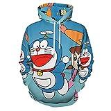 hoist Nobita Doraemon - Sudadera con capucha unisex para hombre