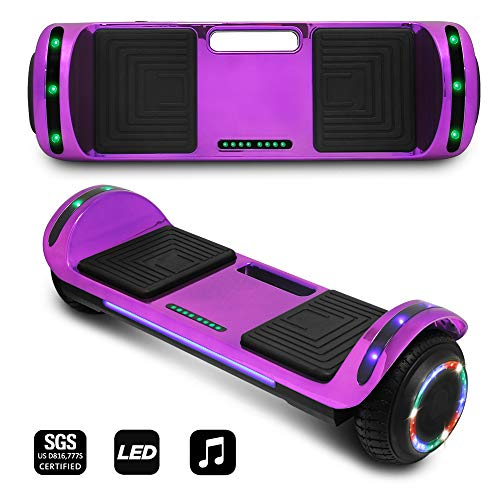 CHO POWER SPORTS 2020 Electric Hoverboard UL Certified...