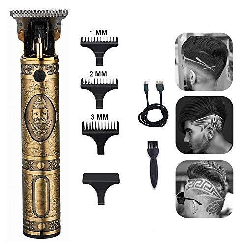 fan pin dian zi shang wu Haarschneider für Männer Elektrische Null Gapped Baldheaded Haarschneider Gravur Friseur Cutter Wiederaufladbare Bartrasierer für Friseursalon Haushalt