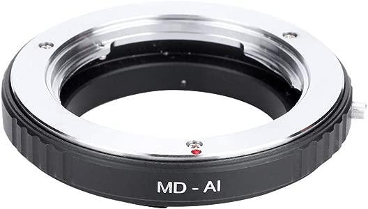 Tangxi MD-AI Camera Lens Adapter  Durable Macro Lens Aluminum Adapter ...