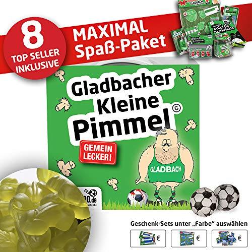 Gladbach Trainingshose ist jetzt KLEINE PIMMEL Set 2: MAXIMAL-Spass-Paket by Ligakakao.de schwarz-grün Herren Kappa Jogging lauf-Hose Trainingsanzug