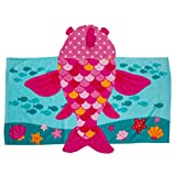 Stephen Joseph Hooded Towel Fish Pink