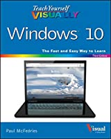 Teach Yourself VISUALLY Windows 10, 3rd Edition Front Cover