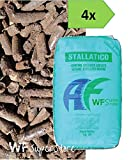 WUEFFE Stallatico Pellet - 4 Sacchi da kg 25 - Concime Naturale ammendante pellettato...