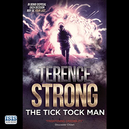 The Tick Tock Man audiobook cover art
