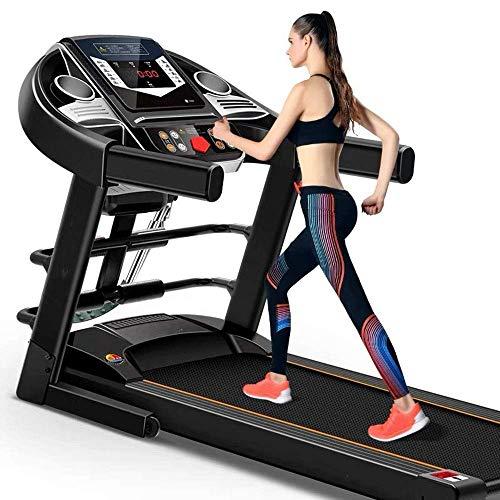 LZQHGJ Laufband, Haushalt Kleinkolben Elektrische Wandermaschine, Ultra-leiser Multifunktions-Laufband, Indoor-Fitnessgeräte/Commodity-Code: YWBBB-472