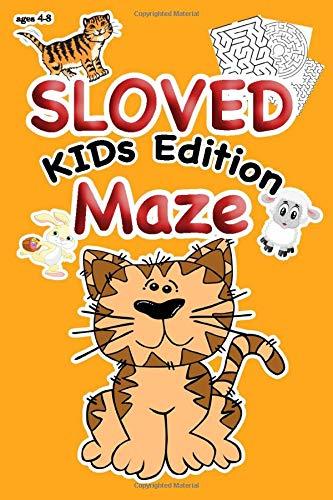 SLOVED MAZE, KIDs Edition , AGE 4 - 8 (The Mazer)