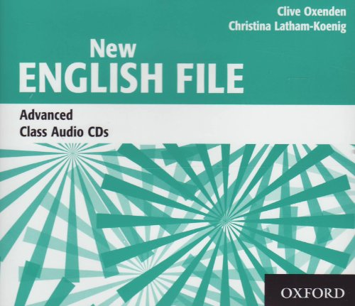 New English File Advanced. Class CD (3) (New English File Second Edition)