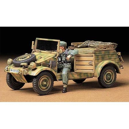 タミヤ 1/35 ミリタリーミニチュアシリーズ No.213 ドイツ陸軍 Pkw.K1 キューベルワーゲン82型 プラモデル ...