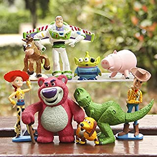 The model of Toy Story nine figure as a set