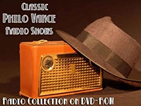 96 Classic Philo Vance Old Time Radio Broadcasts on DVD (over 42 Hours 15 Minutes running time)