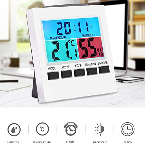 Digoo DG-TK30 Mini LCD Display Electric Digital Kitchen Timer Loud Alarm Magnetic Backing Countdown Timer for Cooking Baking Exercise by scoutBAR