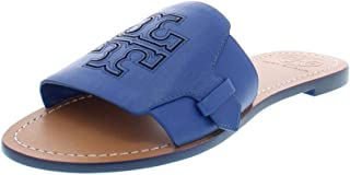 ae52a1fc7804 Tory Burch Womens Melinda Leather Thong Slide Sandals