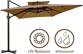 high wind cantilever umbrella