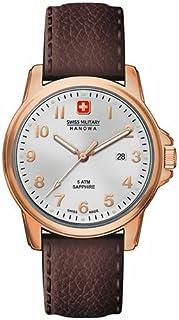 Swiss Military Hanowa - 06-4141.2.09.001- Reloj de pulsera hombre, piel, color marrón