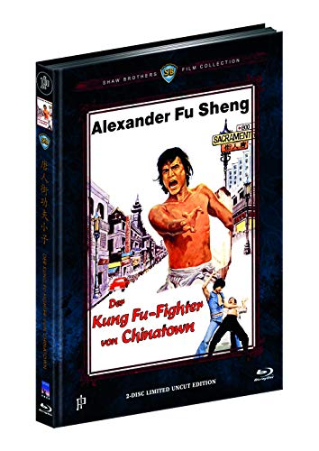 DER KUNG FU-FIGHTER VON CHINATOWN - CHINATOWN KID (Blu-ray + DVD) - Cover B - Mediabook - Limited 333 Edition - Uncut (Shaw Brothers)