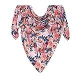 Posh Peanut Baby Swaddle Blanket - Large Premium Muslin Knit - Infant Swaddling Wrap, Receiving Blanket, Baby Shower Newborn Gift - Dusk Rose
