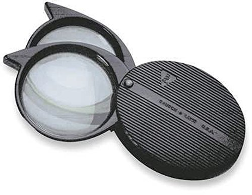 Bausch & Lomb Folding Pocket Magnifier 81-23-64 4x-9x Magnification