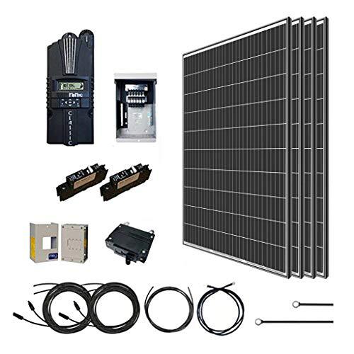 Renogy 1200 Watt 12 Volt Monocrystalline Kit with 4 Pcs of...
