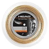 Head Rip Control Rollo Cordajes de Raquetas de Tenis, Adultos Unisex, Blanco-Beige, 1,30 mm