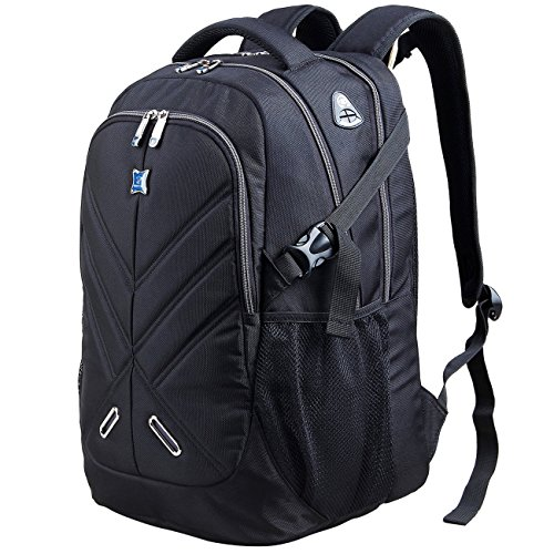 17.3 inch Laptop Backpack with Rain Cover Shockproof Waterproof Travel Work Backpack School...