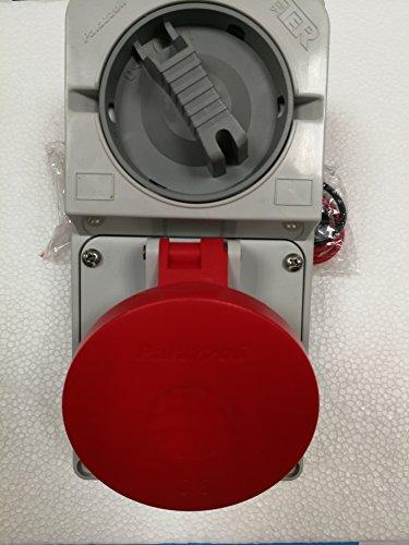 3P+T 32A IP44 Panel stopcontact