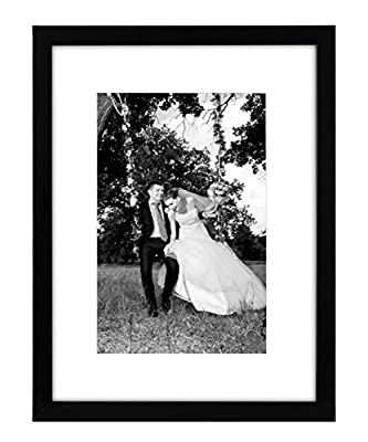 Americanflat 12x16 and 11x14 Black Picture Frames