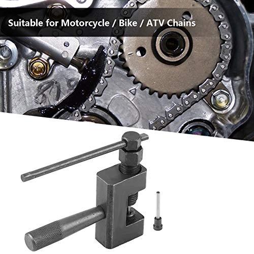 Qiilu Tronchacadenas para cadenas Herramienta de Reparación de Cadena de Motocicleta,bicicleta,ATV #420#428#520#525#528#530 de Aleación 3.5mm