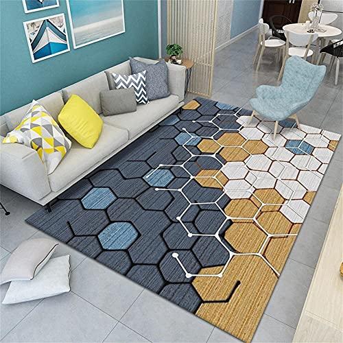 Tapis IKEA Tapis Dry Tapis de Salon géométrique Moderne, insonorisé, Doux, Lavable, Personnalisable 50X80CM Tapis Exterieur Balcon