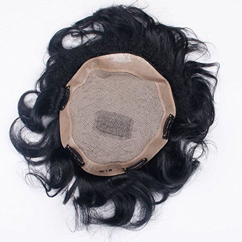 Majik Hair Patch For Men Natural, Hair Patch For Men Best Quality,...