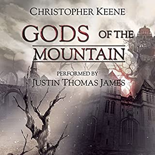Gods of the Mountain audiobook cover art