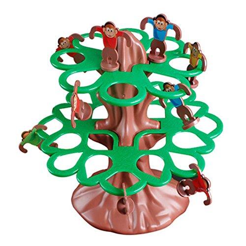 Homeofying Happy Jumping Singe à suspendre Arbre Educational Jeux apprentissage Kid enfants jouet