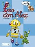 Leo con Álex 5. Escribo. Cuadrícula (Leo con Alex) - 9788424109042