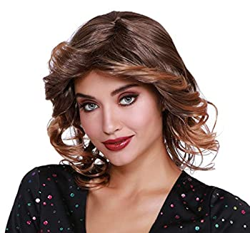 Dreamgirl Women s Disco Feather Wig Multi Adjustable