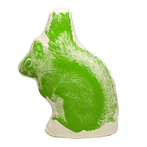 Kissen Fauna Pico Eichhörnchen/Squirrel grün