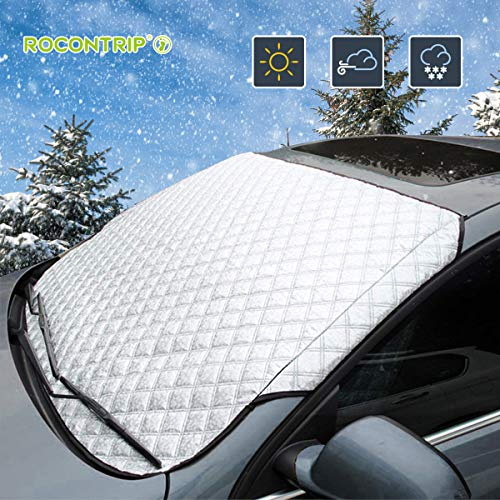 Portable Foldable Removable Sunscreen Blocking Snow Car Front Windshield WST