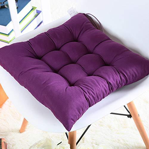 TIAS Premium Kissen Stuhl Sitzpolster, Stuhlpolster Sitzkissen, Sitzkissen für Indoor Outdoor Garten Patio Küche & Bürostühle