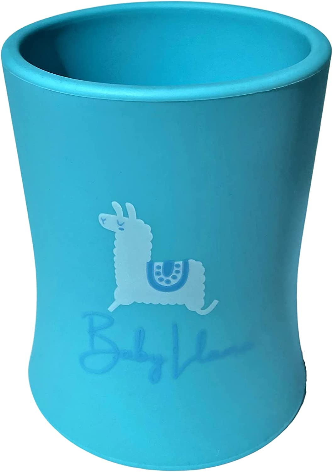 Baby Department store Max 60% OFF Toddler training cup by Llama 100% food- soft - Blue