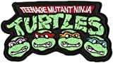 Teenage Mutant Ninja Turtles 3.5' Iron-on or Sew-on Embroidered Applique Emblem Patch/Badge Perfect for Dress Pants Hats Caps Jeans Jackets T-Shirts Vest Backpack Gifts and Accessories