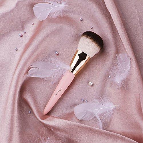 Anne'sGivernyチークブラシパウダーメイクブラシコスメ単品筆化粧ブラシフェイスファンデーションブラシピンクコスメ人気女性プレゼント