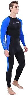 HebeTop Men Wetsuit Quick Dry Full Body Suit Super Stretch Diving Suit Swim Surf Snorkeling
